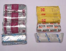 120 film misc lot of 8 rolls Kodak Fuji Agfa Ilford Konica Color B&W Expired