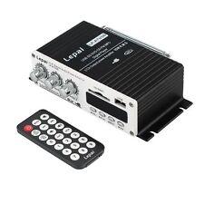 12V Car MP3 Hi-Fi Stereo Audio Amplifier with USB Port DVD FM+ Remote YK