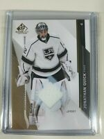 2014-15 SP Game Used Jonathan Quick Jersey Base Parallel Los Angeles Kings #41