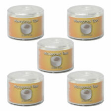 C.M.S Cap & Spool 2.5cm x 5m Adhesive Microporous Surgical Medical Tape 5 Pack