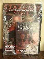 STARGATE SG.1 + livret - BLISTER - N° 55 - L'intégrale en DVD - 3 Episodes