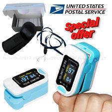 FDA CMS50NA Fingertip Pulse Oximeter Spo2 Monitor Pulse Rate Oxygen Heart Rate