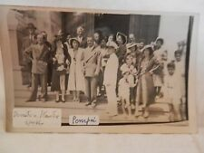foto matrimonio SANTUARIO DI POMPEI nozze epoca fascista seconda guerra mondiale