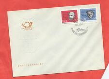 """East Germany DDR stamps.1963 75th Anniv of """"Internationale"""" song FDC (E109)"""
