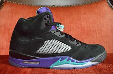 NEW Nike Air Jordan V Black Grape 2013 136027-007 Size 14 DISPLAY