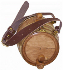 Personalized St. Bernard Dog Collar Oak Barrel (Half Liter) Charm