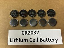 Set of 10: New Lithium CR2032 3V Keyless Entry Remote Coin Battery FREE TRACKING