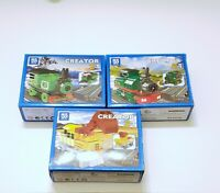 creator DIY train blocks set 3for 10