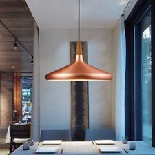 Large Chandelier Lighting Kitchen LED Ceiling Lamp Bar Wood Modern Pendant Light
