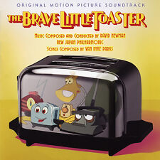 BRAVE LITTLE TOASTER David Newman + Van Dyke Parks SOUNDTRACK Score CD New OOP!
