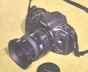 MINOLTA DYNAX 500si + MINOLTA ZOOM Xi 28-80mm  Macro lens TO CLEAR