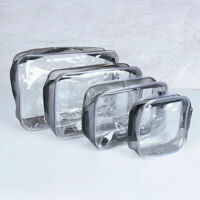 1Pc Waterproof Transparent Cosmetic Bags Storage Pouch Makeup Case Toiletry Bag