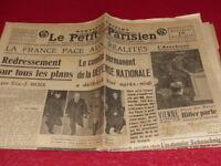 """[PRESSE AVANT-GUERRE] """"LE PETIT PARISIEN"""" 16 MARS 1938 / Hitler Blum"""