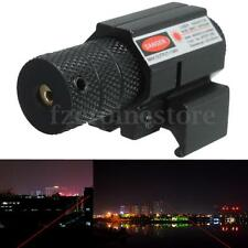 Red Dot Laser Sight Beam Tactical Scope 20mm Picatinny Rail Mount For Hunting