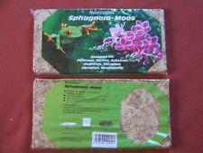 100g Sphagnum Moos Orchideen gepresst