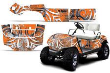 Golf Cart Graphics kit Decal for Yamaha 1995-2006 Deaden Orange