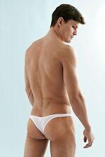 Undergear Extreme Men's Sheer Men's Mesh Thong White or Black