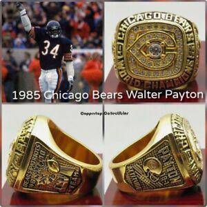 1985 CHICAGO BEARS Super Bowl Championship Ring NFL Football WALTER PAYTON
