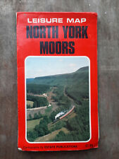 North Yorkshire Moors-Leisure Map 1980's