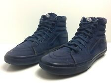 VANS Mens US 9.5 High Top Canvas Blue EUR 42.5 Skateboard Shoes