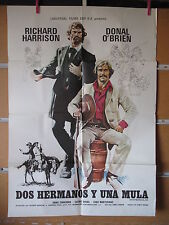 A2350  DOS HERMANOS Y UNA MULA. RICHARD HARRISON, DONAL O'BRIEN
