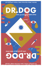 DR. DOG/SON LITTLE 2018 HOUSTON CONCERT TOUR POSTER-Psychedelic/Indie Rock Music