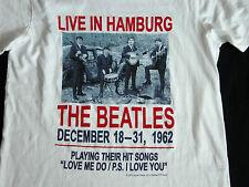 NEW NWT THE BEATLES LIVE IN HAMBURG T Shirt M Chest 95cm