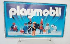 playmobil Vintage Cartel años 80 RARE PIECE UNIQUE!! 65cm X 42cm