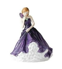 Royal Doulton Petite Pretty Ladies JULY LARKSPUR Flower of the Month New in Box