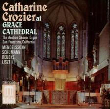 NEW Catharine Crozier: At Grace Cathedral; 1990 CD, Mendelssohn, Schumann, Liszt