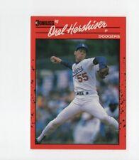 1990 Donruss #197 Orel Hershiser Los Angeles Dodgers Baseball Card