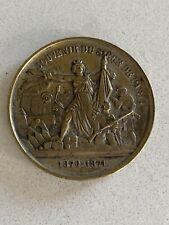 France Medal / Coin  Siege of Paris 1870-71