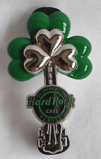 Hard Rock Cafe Venice Italy 2014 St. Patricks Day Clover Guitar Shamrock Pin