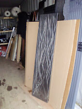 Linished Rush Vertical Designer Radiator 405/1605 vertical Stainless Steel