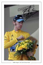 Bradley Wiggins 2012 Tour de France signé autographe photo print