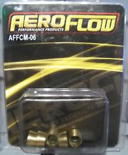 Aeroflow A/C -6AN REPLACEMENT OLIVES 6 AN FREE VERY FAST SHIPPING!!!!!!!!!!!!!!!