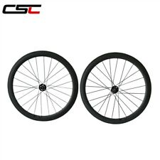 Road Disc brake hub 50mm Clincher  Cyclocross carbon wheels 12*100mm thru axle