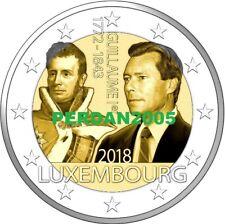 LUSSEMBURGO 2018 2 EURO 175 ANNI DELLA MORTE GUGLIELMO I LUXEMBURG FDC UNC