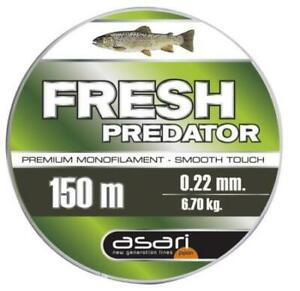 Sedal Asari Fresh Predator 150m 0.16mm 3kg hilo de pesca