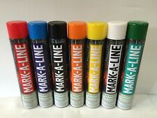 LINE MARKING PAINT MIXED COLOURS 750ML X 12