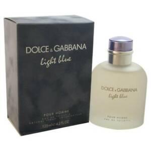 Light Blue Men Dolce & Gabanna 4.2 oz EDT Cologne Spray For Men * New in BOX