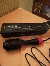 2 en 1 Electrique Brosse Soufflante Sèche-Cheveux Brosse à Cheveux
