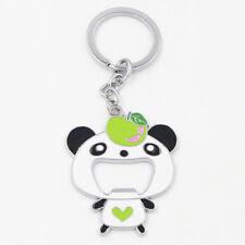 Cute Panda Keychain Coke Beer Bottle Drink Opener Lovely Bag Handbag Pendant