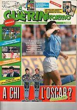 GUERIN SPORTIVO=N°13 1990=ASSENTI FASCICOLI MONDIALE=MARADONA COVER