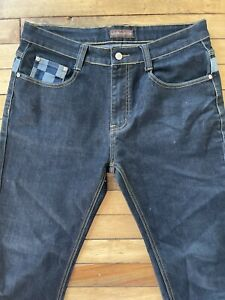 Louis Vuitton Men's Blue Jeans Size 34 Made In France