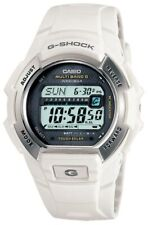 Casio Men's Watch G-Shock White Resin Digital Solar Power Atomic Dive GWM850-7C