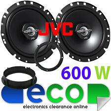 VW Amarok 2009-2014 JVC 17cm 6.75 Inch 600 Watts 2 Way Front Door Car Speakers