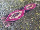 Runner rug, Handmade wool rug, Hallway rug, Turkish rug | 2,6 x 10,2 ft