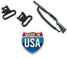 MOSSBERG 500 TACTICAL PUMP SHOTGUN AMMO SLING and QR SWIVELS COMBO PACK - U.S.A.