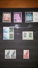 Lot de timbres d' Andorre neufs